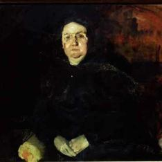 Retrato de Dña. Clotilde del Castillo, Sra. de García