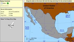 States of Mexico. Intermediate. Sheppard Software