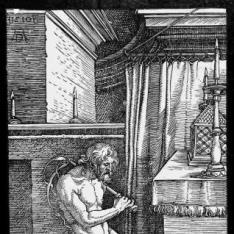 El penitente o El Rey David haciendo penitencia