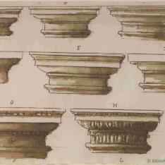 Capiteles dóricos