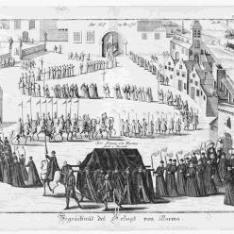 Begraepnüs des Hergozs von Parma