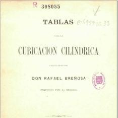 Tablas para la cubicación cilíndrica calculadas