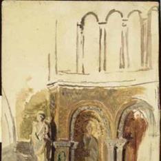 Detalle del atrio de San Marcos de Venecia