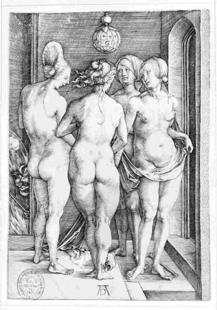 Cuatro mujeres desnudas ó Las cuatro brujas