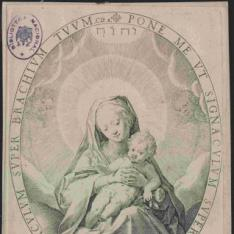 La Virgen con el Niño