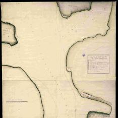Plano de la Entrada del Puer[to] de la ciudad de Santg°. de Cuba