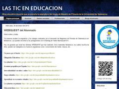 Las TIC en educación