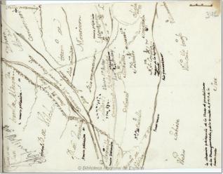 Mapa de Santisteban del Puerto y alrededores