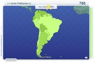 Geo Quizz Sudamerica. Giochi geografici