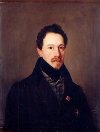 Retrato de José Félix Allende Salazar y Mazarredo, comandante de infantería, de paisano