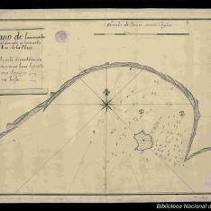Plano de lancenada de maldonado à lentrada del Rio de la Plata