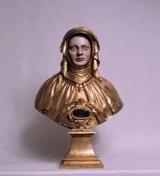 Busto-relicario de Santa Teresa