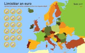 Limistéar an euro. Toporopa