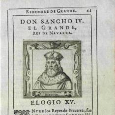 Retrato de Sancho IV, Rey de Castilla