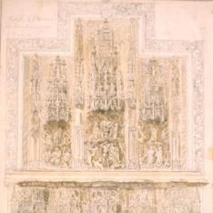 Retablo del Monasterio de Montearagón, Huesca