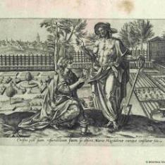 Cristo como jardinero apareciéndose a María Magdalena
