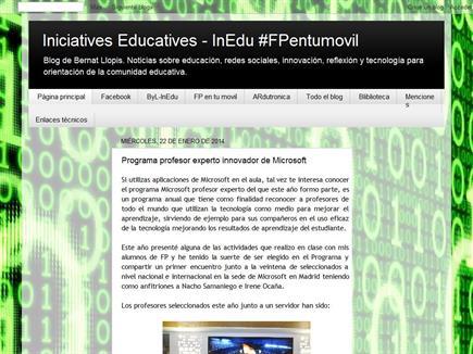 Iniciatives Educatives - InEdu