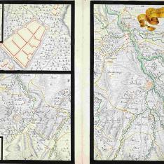 Plano de la villa de Garriguella