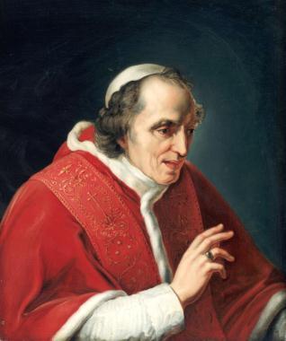 El Papa Pío VII