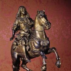 Carlos II, ecuestre