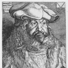 Retrato de Friedrich III, Elector de Sajonia
