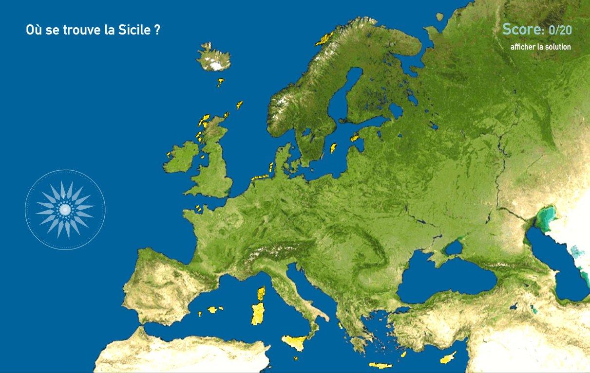 Îles d'Europe. Toporopa