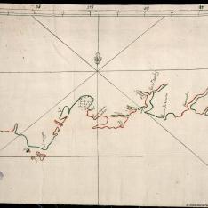 Carta de la costa Sur de Santo Domingo