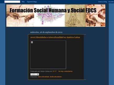 Formación Social y Humana FDCS