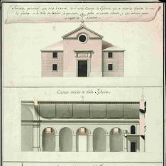 Proyecto para la Iglesia de Axalvir,