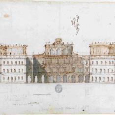 Proyecto para un palacio o villa