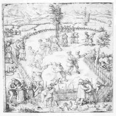 Fiesta de aldeanos