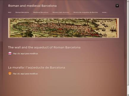 Roman and medieval Barcelona