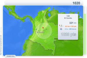 Ciudades de Colombia. Juegos Geográficos