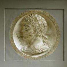 Cabeza de personaje masculino, posiblemente Augusto