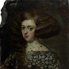 Retrato de la reina Mariana de Austria (?)