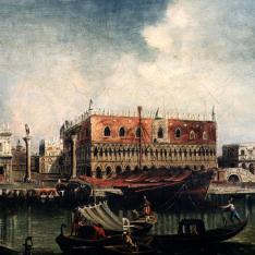 Plaza de San Marcos con el Palacio Ducal, Venecia