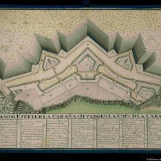 Plano del Fuerte de la Cabaña