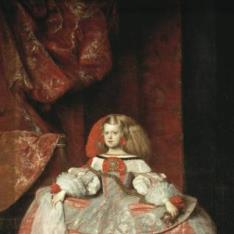 La infanta Margarita de Austria