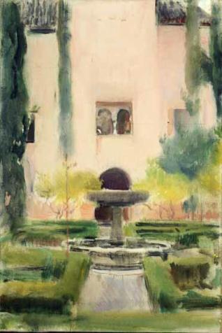 Jardín de Daraxa, La Alhambra