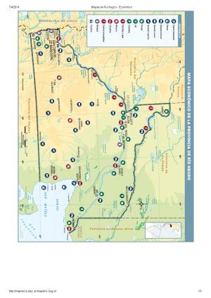 Mapa económico de Río Negro. Mapoteca de Educ.ar