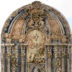 Proyecto para un retablo de la Transfiguración