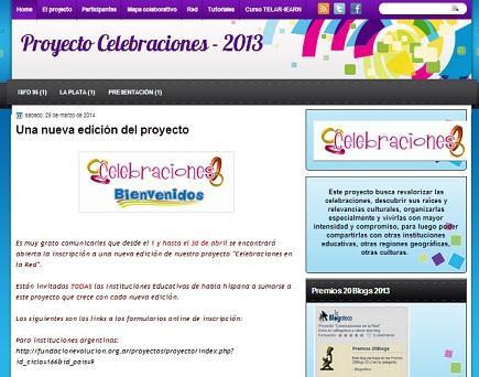 Proyecto CELEBRACIONES