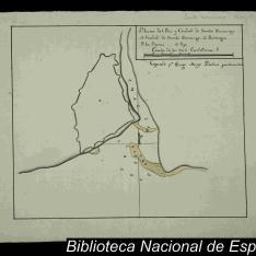 Plano del Rio y Ciudad de Santo Domingo