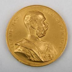 Gran Medalla del Estado de la Exposición Internacional de Viena. 1898
