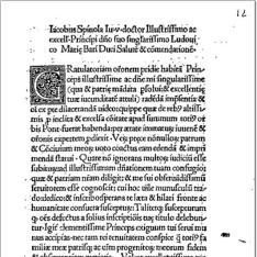 Oratio gratulatoria ad Alexandrum VI. nomine Genuensium