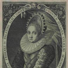Retrato de Luisa Juliana de Nassau