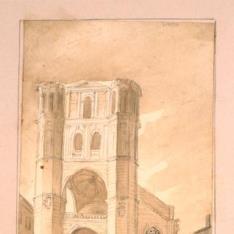 Fachada principal del monasterio de San Benito de Valladolid