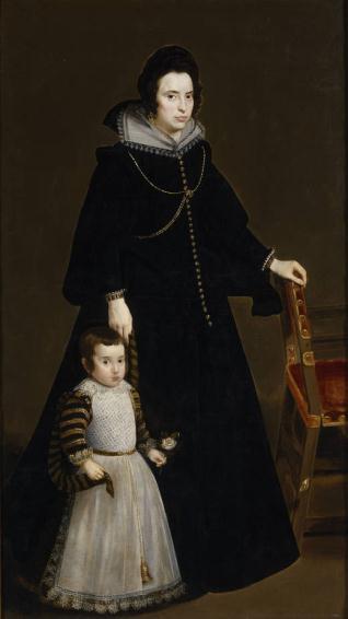 Antonia de Ipeñarrieta y Galdós y su hijo don Luis