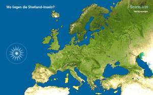 Inseln in Europa. Toporopa