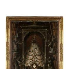 Virgen de los Remedios - Virgen en su altar